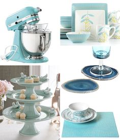 Cute dishes.  Possible kitchen accessories color?  I'm still stumped on what colors I am going to do for the kitchen.