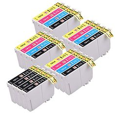 From 9.50 Perfectprint Compatible Ink Cartridge Replacement For Epson Expression Home Printer Xp-205 225 30 302 305 312 315 322 325 402 412 415 405 P405wh 422 425 405 18xl (black/cyan/magenta/yellow 20-pack)