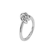 Coleção Knot - Anel em prata PVP 28,00 Euros Pvp, Knots, Heart Ring, Engagement Rings, Collection, Jewelry, Jewelry Sets, Silver, Jewels