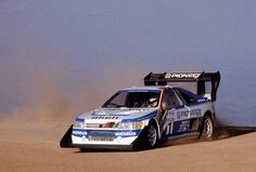 Pikes Peak 1988 - Ari Vatanen on his Peugeot 405 T16
