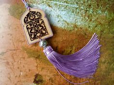 Moroccan art silk tassel  moroccan door wood by HEARTtoHEARTart, €4.50