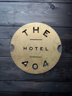 The 404 Hotel & Kitchen    Tucked slyly in the center of Nashville's rapidly growing urban core, this  hideout appeals to travelers and locals who are looking for a tailored stay  or unique dining experience.    Branding & Logo Design, Environmental Signage Photography by Caroline Allison, Neely Tabor