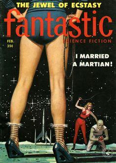 Ed Valigursky - Fantastic, February 1958.