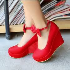 Image result for high heels shoes for women red