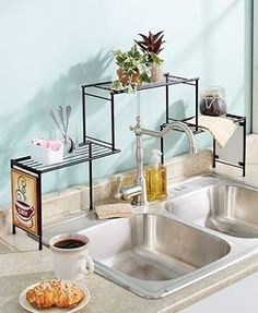over the sink shelf kitchen - Google Search