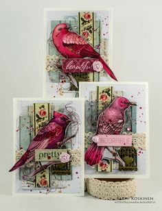 Scrapberry's | ATC | Birdies