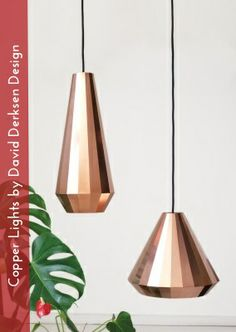 Copper Lights by David Derksen Design | RoundUp: The Copper Pendant — D'Scoop