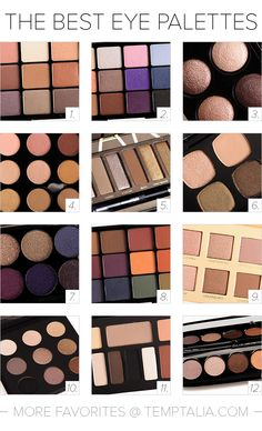 The Best Eyeshadow Palettes (2015 Edition)