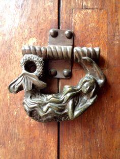 Door knocker in Cartagena, Colombia.