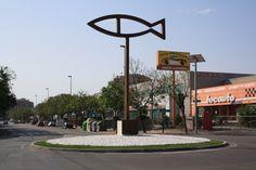 Rotonda del pez sostenible (Murcia)