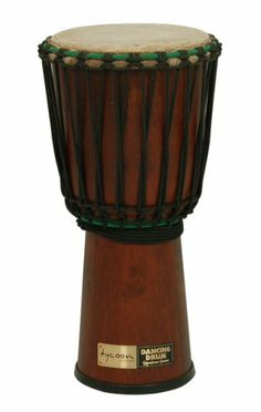 """9"""" African Dancing Djembe Drum by Tycoon. $199.00. Save 34%!"""