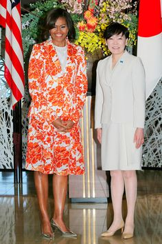 Michelle Obama in Altuzarra