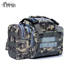 Layers: Two-LayerUse: Multi-PurposeMaterial: CanvasBrand Name: PisfunWith Rack or Not: NoModel Number: Fishing Bagis_customized: YesWeight: Oxford Fishing Tackle Bags, Fishing Box, Fishing Tools, Tackle Box, Fishing Lures, Fish In A Bag, Waist Pack, Multifunctional, Outdoor Travel