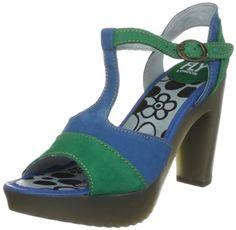Fly London Women's Jink Open Toe: Amazon.co.uk: Shoes & Accessories