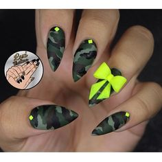 "Lexi Martone Nails  on Instagram: ""throwback to last summers camo nails❇️✳️ check out my new inner wild collaboration with @dermelect for a new take on metallic camo for fall! use site wide coupon code Lexi-20 and gain access to exclusive presale using the link in my bio❇️❇️"""