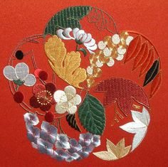 JAPANESE EMBROIDERY SITE  #afs 12/5/13 #embroidery