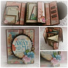 Aug 2014 G45 Come Away With Me - Mini Album Tutorial by Kimi: Unique Scrappiness