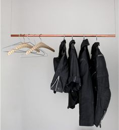 DIY Copper Pipe Coatrack from Love Aesthetics, Remodelista ♥ LOVE IT ♥ Inka from RITMS http://www.etsy.com/shop/RITMS