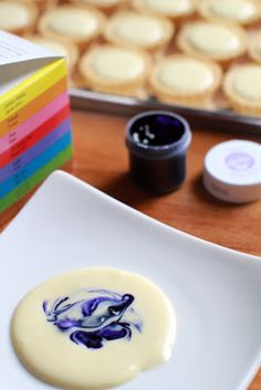 BLUBERRY CHEESE TART dan step by step - masam manis