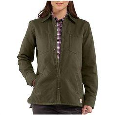 Women's Carhartt® Highland Quilted Shirt Jacket