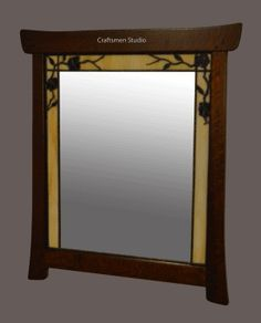 1000 images about half bath mirror on pinterest arts for Craftsman mirrors bathroom