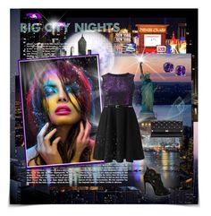 """Big City Nights"" by kristina-kazlauskaite ❤ liked on Polyvore featuring Metropolis, Alaïa, Yves Saint Laurent and Diane Von Furstenberg"