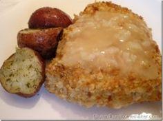 chicken breast with garlic sauce
