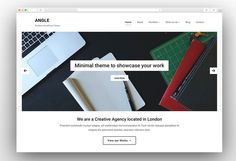 Here is the collection of best simple WordPress Themes that will allow you to create simple website effortlessly with their simple and friendly interface. Simple Wordpress Themes, Minimalist Wordpress Themes, Wordpress Website Design, Minimal Theme, Simple Website, Wordpress Template, Portfolio Website, App Development, Business Design