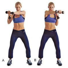 Dumbbell Cross Punch