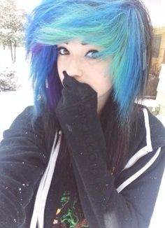 scene hair - scene hair You are in the right place about Beauty model Here we offer you the most beautiful pictu - Scene Girls, Green Hair, Blue Hair, Lilac Hair, Pastel Hair, White Hair, Blue Green, Sisterlocks, Locs