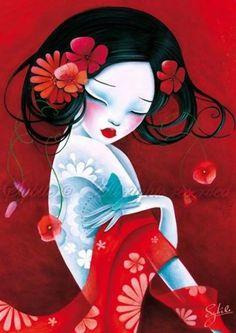 delunatenebrosa: Lady Sybile, artist