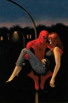 Spider-Man and Mary Jane by Paolo Rivera