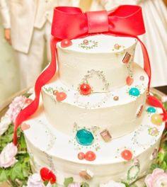 インスタで人気の可愛いウェディングケーキデザイン   marry[マリー]