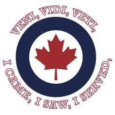 Royal Canadian Air Force Roundel Shield