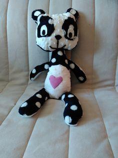 Première peluche Panda LILI