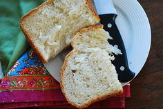 Basic white bread made in a bread machine by JuliasAlbum.com, via Flickr I used butter instead of oil
