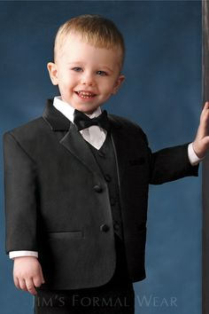 Toddler Tuxedo and Tailcoat // Jim's Formal Wear Tuxedo Accessories, Tuxedo Rental, Groom And Groomsmen, Wedding Attire, Formal Wear, Special Events, Tuxedos, Cute