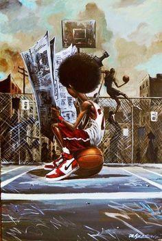 Black Love Art, Black Girl Art, Art Girl, Arte Do Hip Hop, Hip Hop Art, Frank Morrison Art, Arte Black, Wal Art, Black Art Pictures
