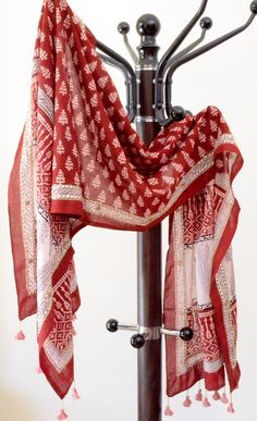 Cotton Bagh Printed Stoles