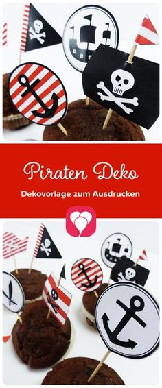 Decorate your muffins with this sweet deco picker . Thanksgiving Gifts, Thanksgiving Decorations, Decoration Pirate, Cupcake Picks, Autumn Wreaths, Creative Kids, Blog, Halloween Kids, Diy Party