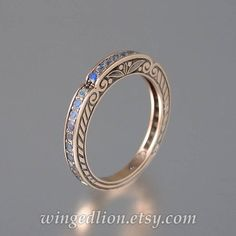 CARYATID rose gold wedding band with Rainbow Moonstones wedding bands Items similar to CARYATID rose gold wedding band with Rainbow Moonstones on Etsy Cute Jewelry, Jewelry Rings, Silver Jewelry, Jewelry Accessories, Jewellery, Silver Bracelets, Silver Ring, Glass Jewelry, Gold Bands