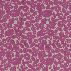 Chenille Arabella 3 - violett - Möbelstoffe Chenille - Möbelstoffe Blumen - stoffe.de