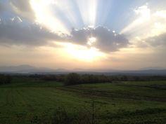 Sunrise,Mavranei village,Grevena,Greece