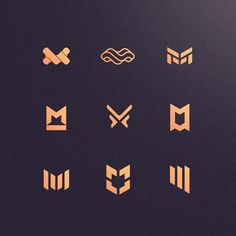M icons by @masejkee  Follow us @logoplace and contact us on email to order the logo/branding you... #logotype #logomark #graphicdesign #dribbble #logonew #brandidentity #symbol #businesslogo #logogrid #logoinspire #logoinspirations #branding #logoplace #logopassion #logoprocess #glacreative #logosai #dailylogo Logo Typo, Logo Branding, Corporate Identity, Brand Identity, Logo Process, Logo New, Love Logo, House On The Rock, Logo Design