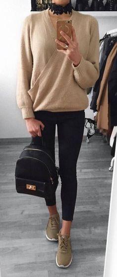 ootd+top+++bag+++skinnies