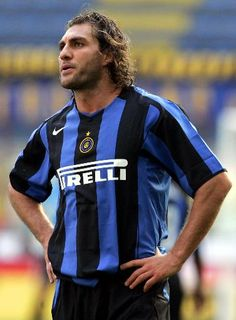 Christian Vieri, el Toro. Goleador italiano de los 90s