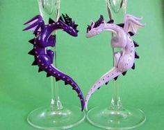 Purple Dragon Flutes Close Up by *DragonsAndBeasties on deviantART