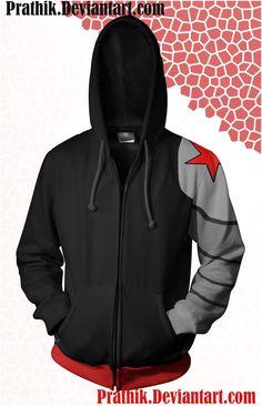 Winter Soldier Hoodie by prathik on DeviantArt