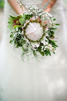 Удивительные свадебные букеты.