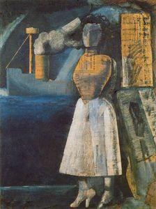 Mario Sironi - Venus der Ports